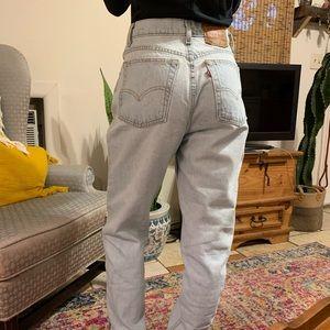 Vintage Levi Mom Jeans 512- Size 25